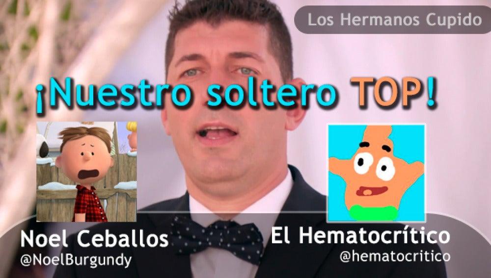 """""""Bernardo es nuestro soltero favorito del programa"""" por @hematocritico y @NoelBurgundy"""