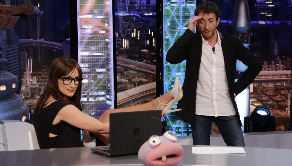Ana Morgade y Pablo Motos