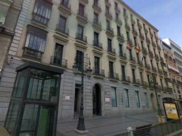 La sede de la Consejeria de Educación y Empleo de Madrid