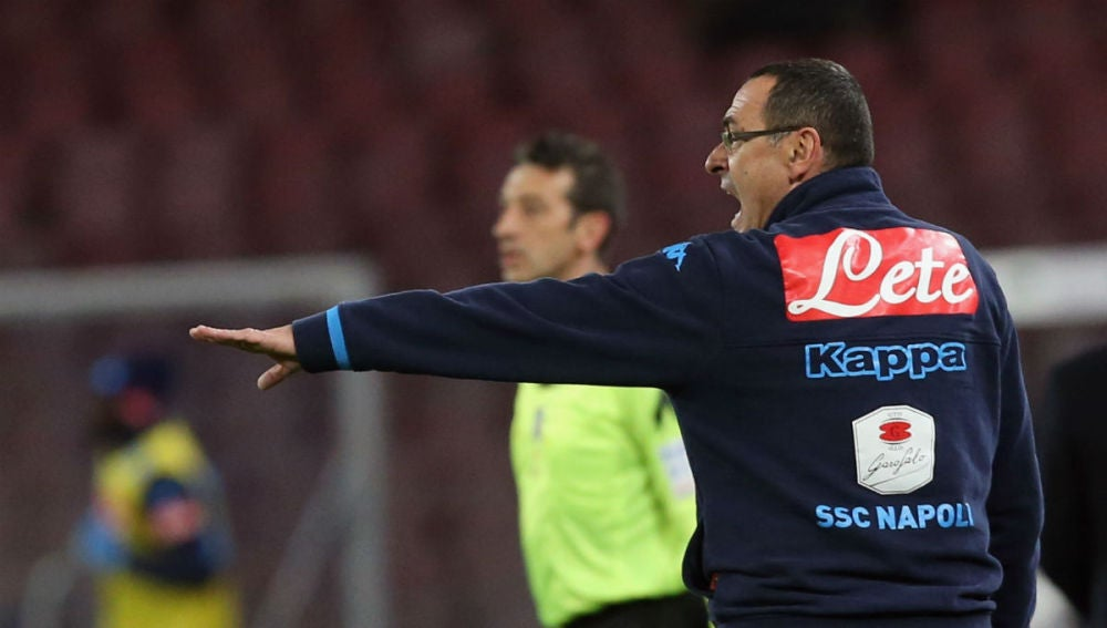Maurizio Sarri, técnico del Nápoles