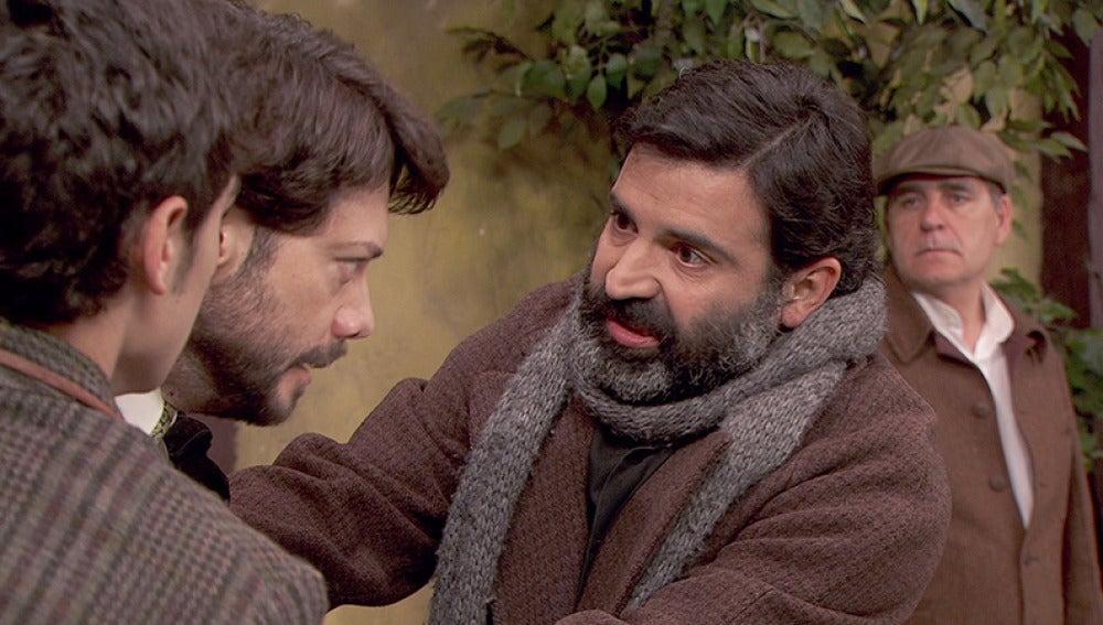 Don Berengario interviene en la pelea de Lucas y Eliseo