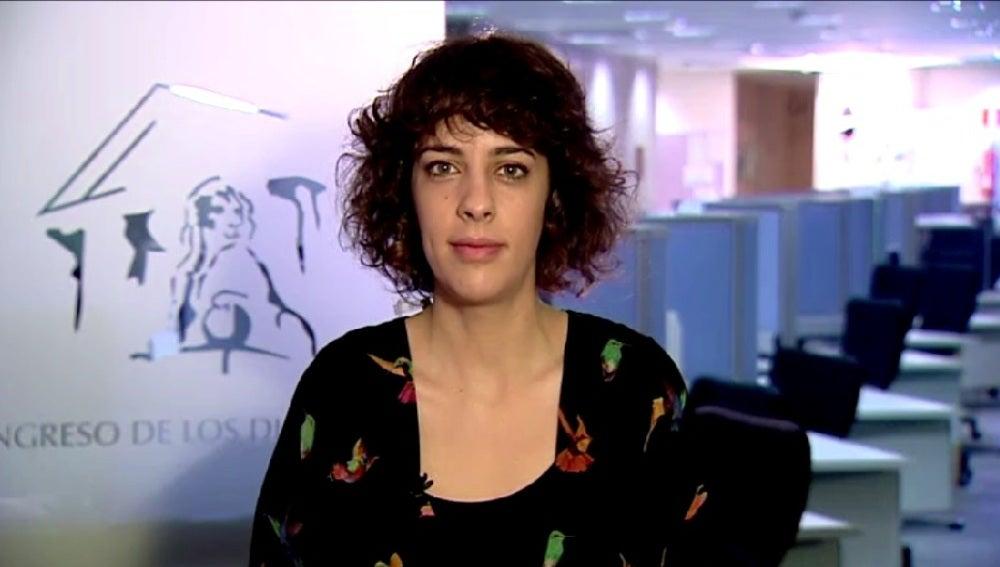 Alexandra Fernández, portavoz de En Marea, en Espejo Público