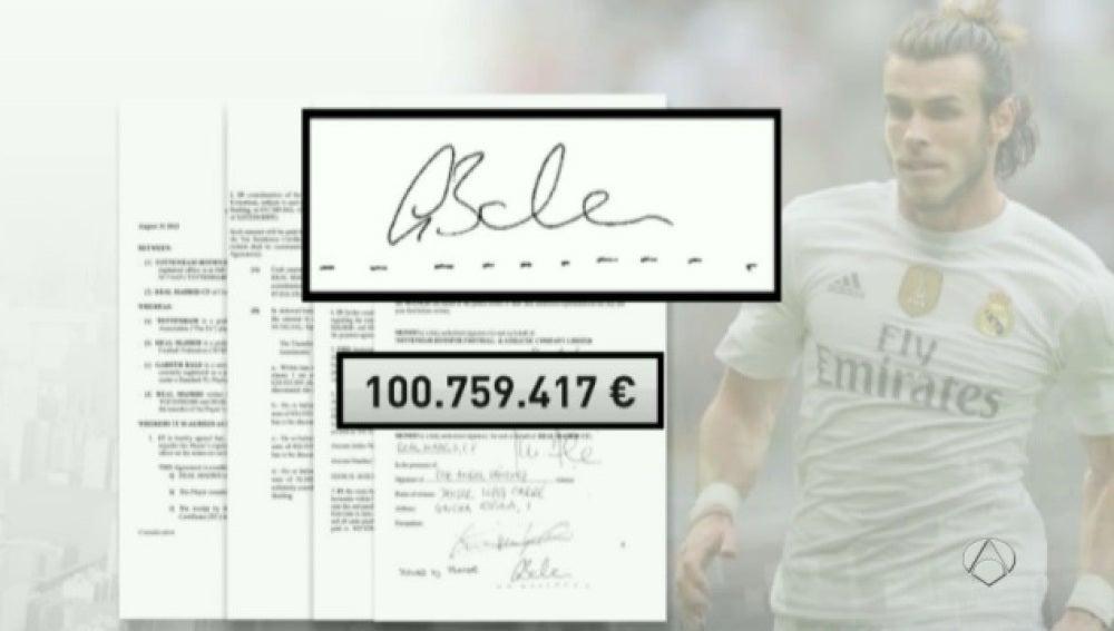 El contrato de Bale con el Madrid