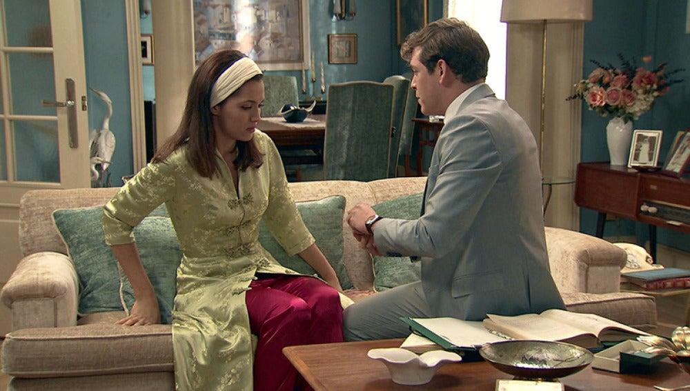 Guillermo le pide matrimonio a Sofía