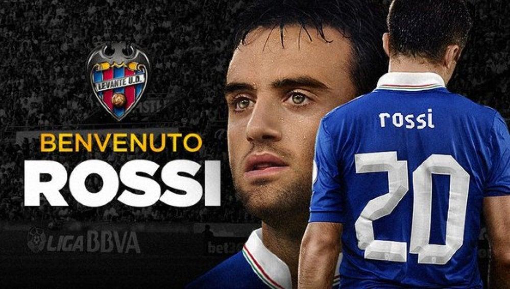 Guiseppe Rossi, nuevo jugador del Levante