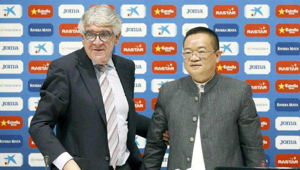 El nuevo máximo accionista del Espanyol, Chen Yansheng