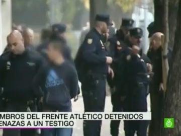 Dos miembros del Frente Atlético han sido detenidos