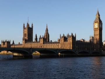 Edificio del Parlamento británico en Londres