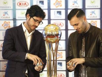 Víctor Sánchez del Amo y Lucas Pérez abren las bolas del sorteo de la Copa del Rey