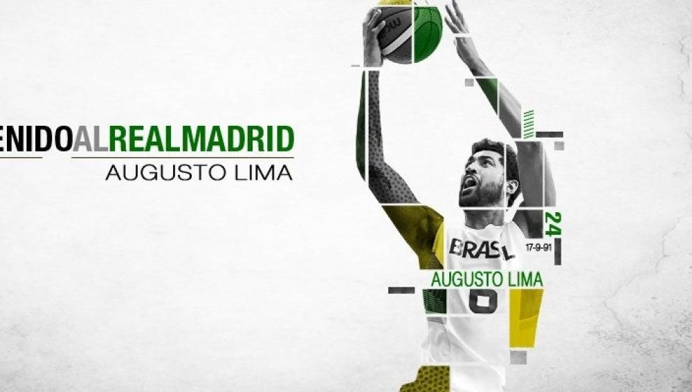 Augusto Lima, nuevo jugador del Real Madrid de baloncesto