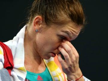 Simona Halep, tras ser eliminada del Open de Australia