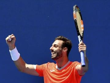 Marcel Granollers celebra su victoria en el Open de Australia