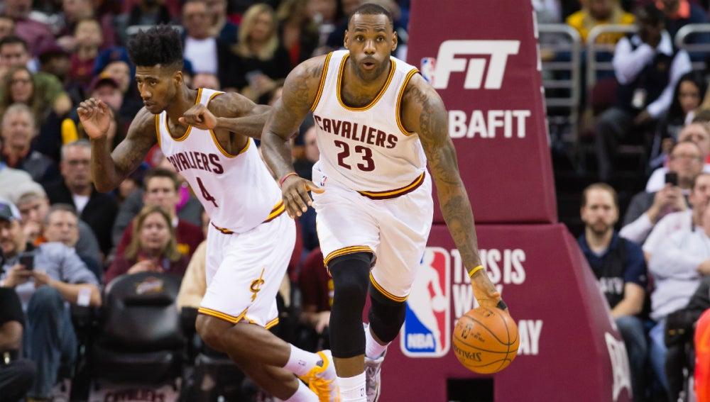 LeBron James dirige el ataque de los Cleveland Cavaliers