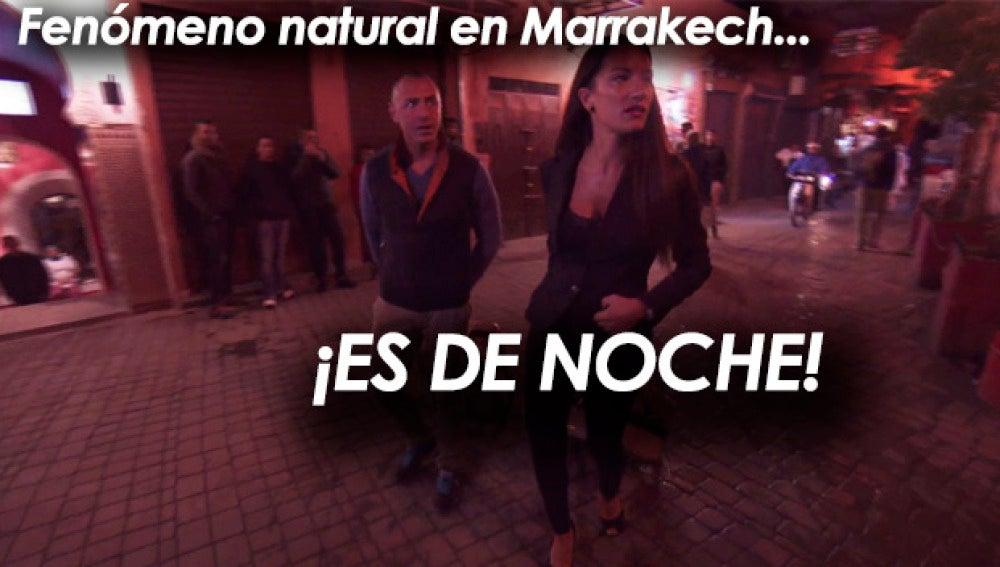 """""""Marrackech no les gusta a Sabrina y Jonathan porque está oscuro"""" por @SuperFalete"""
