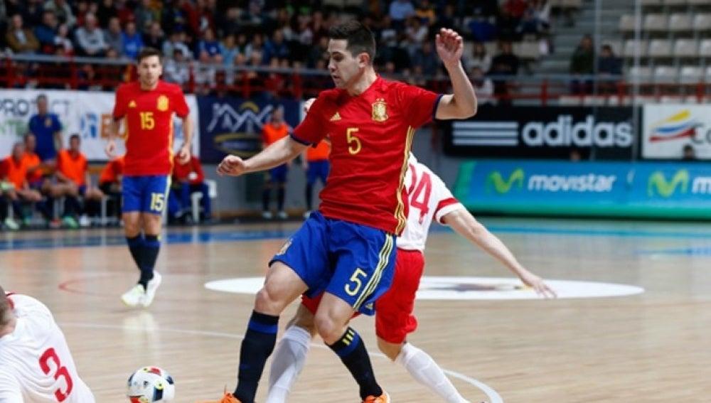 La Selección, preparada para la Eurocopa de Belgrado
