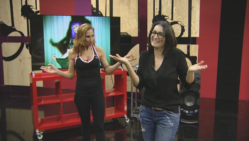 Silvia Abril y Miryam Benedited