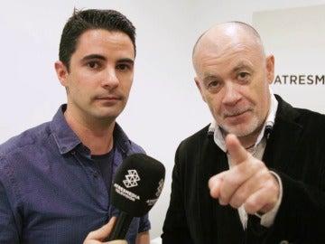 Guillermo Moreno y Alfredo Duro