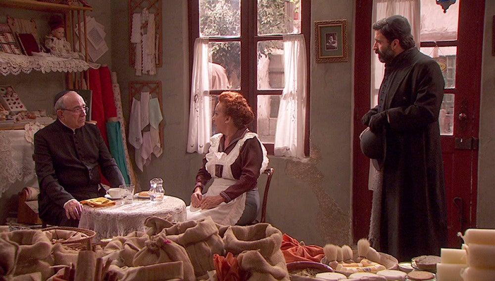 Don Anselmo y don Berengario se conocen