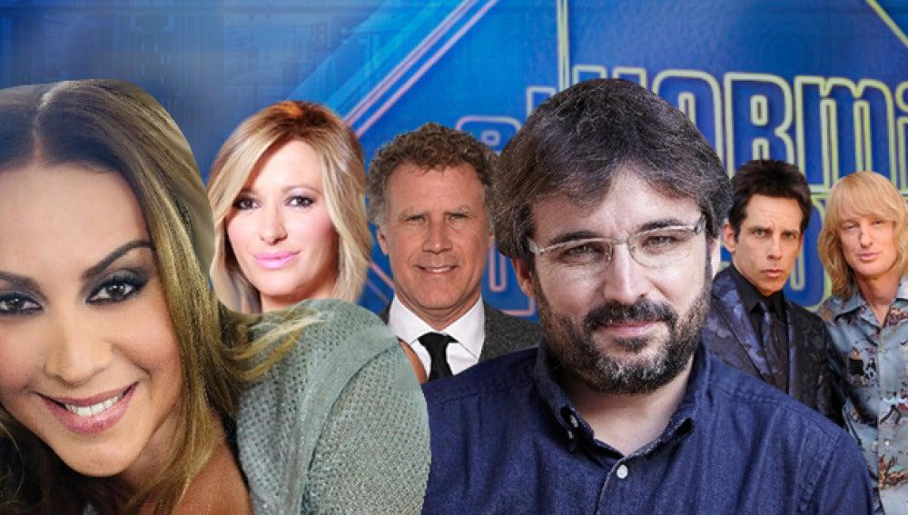 Ben Stiller, Owen Wilson y Will Ferrell, Mónica Naranjo, Jordi Évole y Susanna Griso en 'El Hormiguero 3.0'