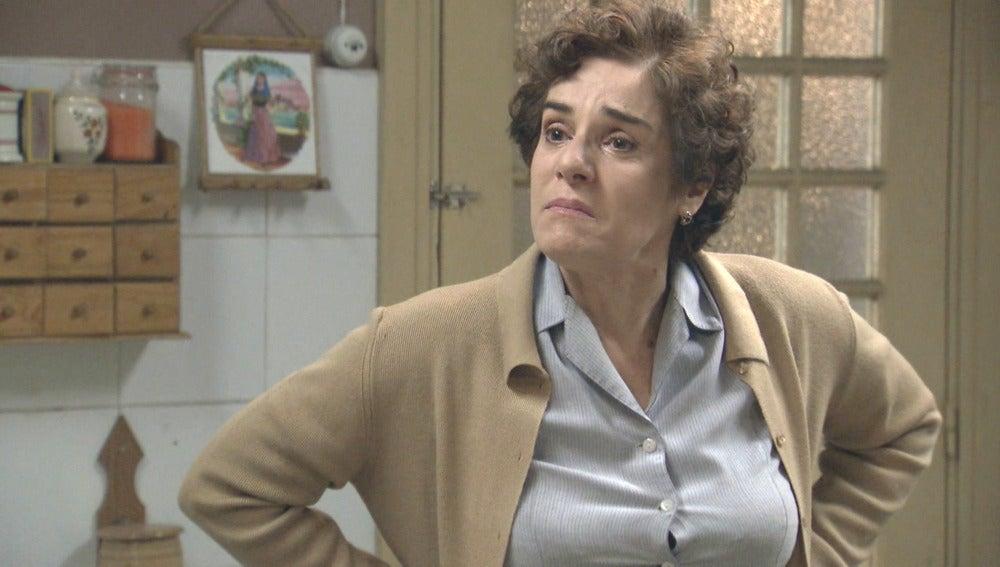 Benigna está decidida a abandonar la pensión