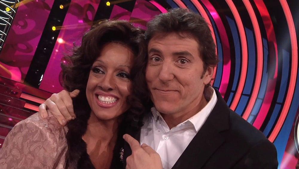 Ruth Lorenzo y Manel fuentes en la final de 'TCMS4'