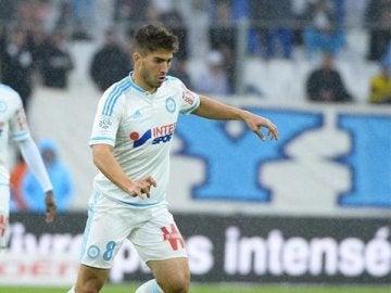 Lucas Silva, con el Olympique de Marsella