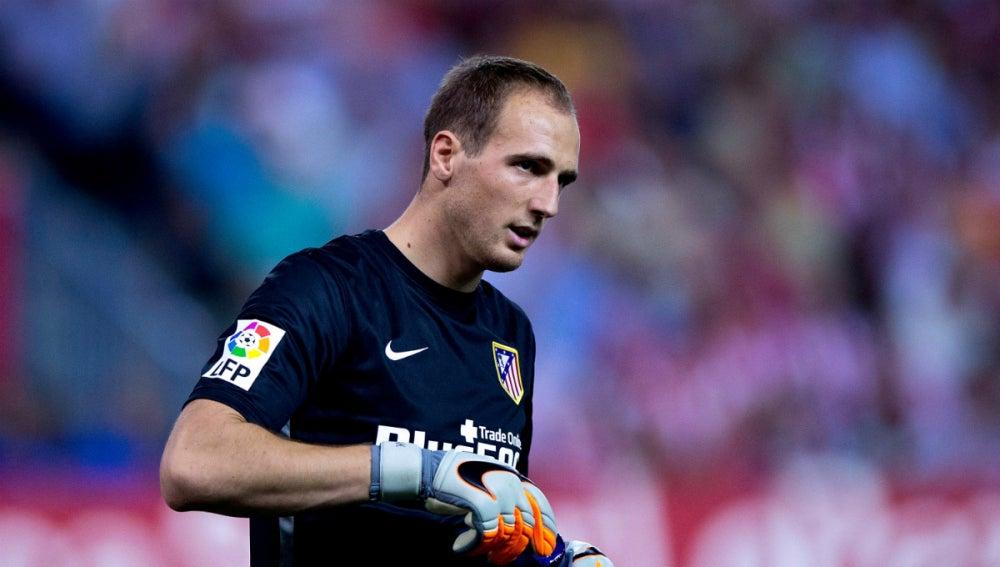 Jan Oblak, durante un partido