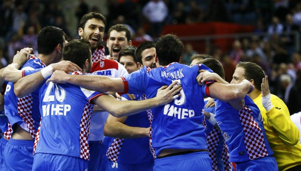 Croacia celebra su bronce