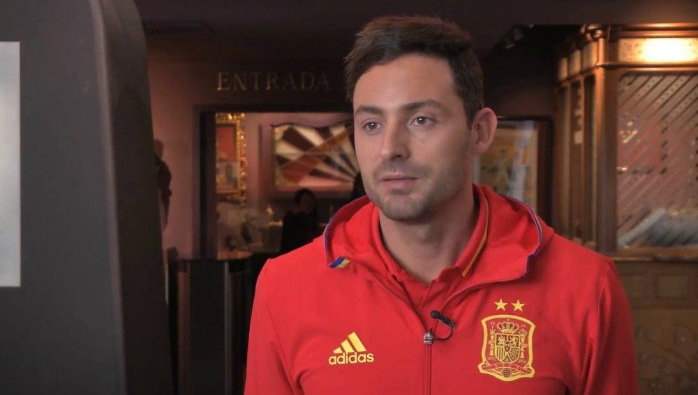 Juanjo, portero de la selección española de fútbol sala