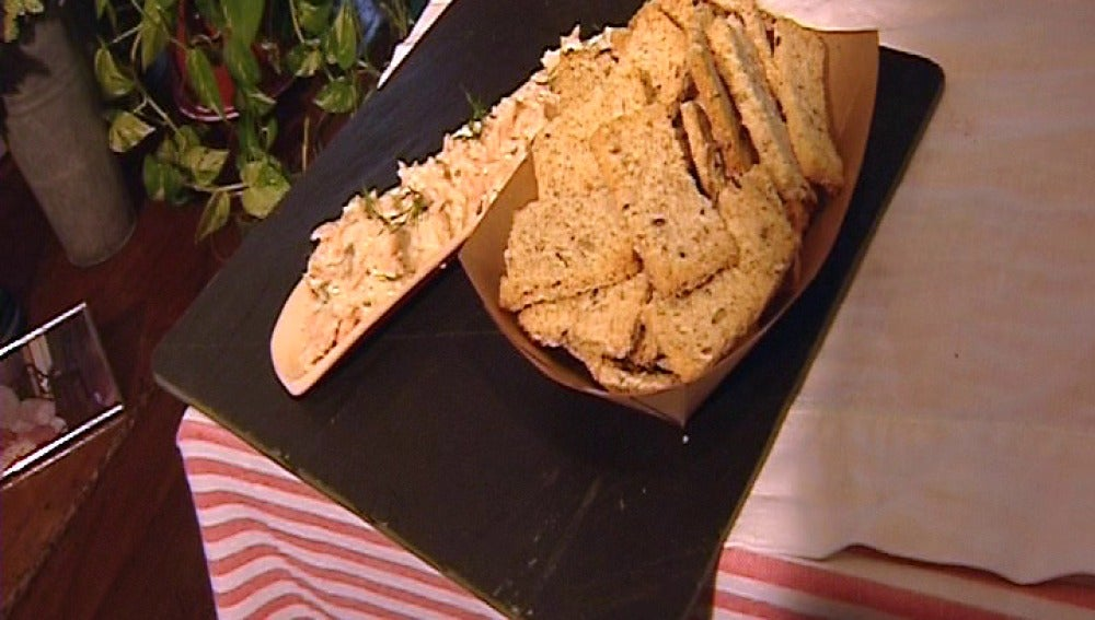 Prepara un entrante típico francés… ¡rillette de salmón!