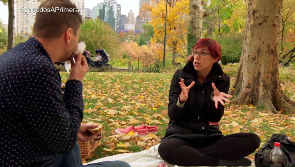Desastroso picnic romántico a lo Pretty Woman en Nueva York