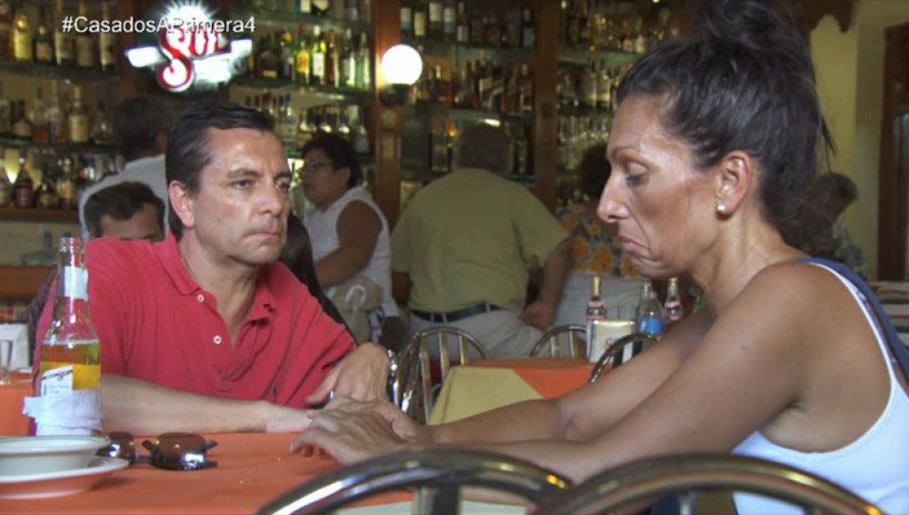 La tensión entre Mónica y Pedro aumenta por momentos
