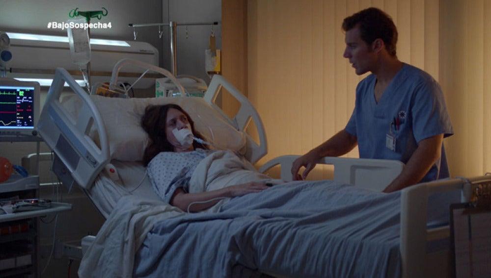 Sara Guzmán despierta del coma