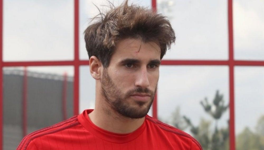 Javi Martínez, jugador del Bayern Munich