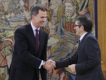 El Rey recibe a Patxi López