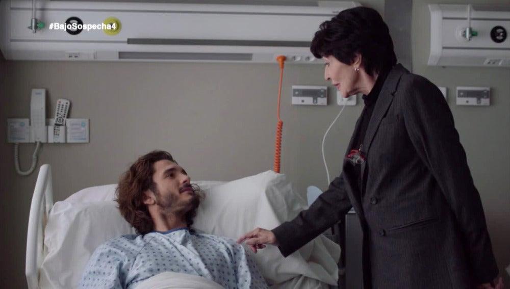 """Adela intenta controlar a Víctor: """"Si descubres algo, me lo cuentas a mí antes que a nadie"""""""