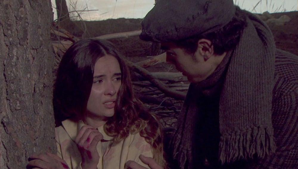 Matías encuentra a Beatriz