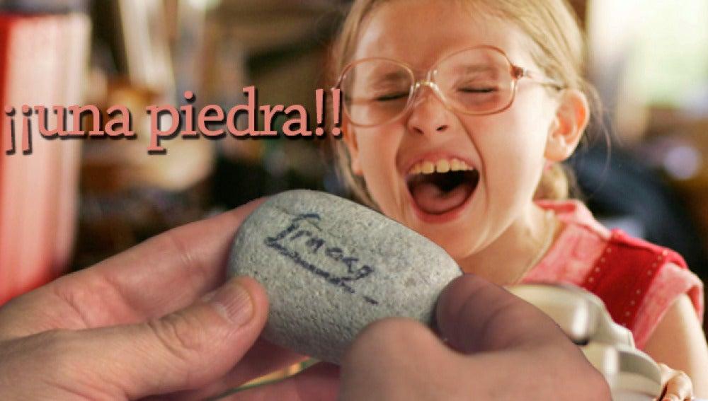 """"""" ¡Una piedra! ¡¡¡Una piedra!!""""! por @SeñoritaPuri"""