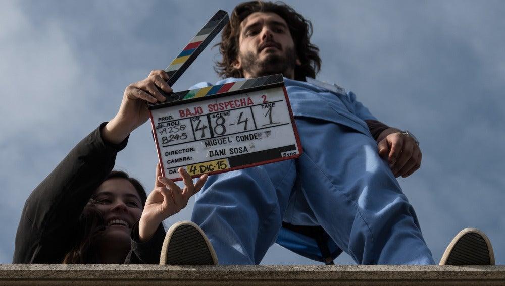 Claqueta, Yon González y acción