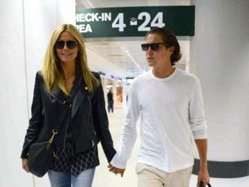Heidi Klum y Vito Schnabel, enamorados