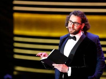 Dani Rovira durante la pasada gala de los Goya