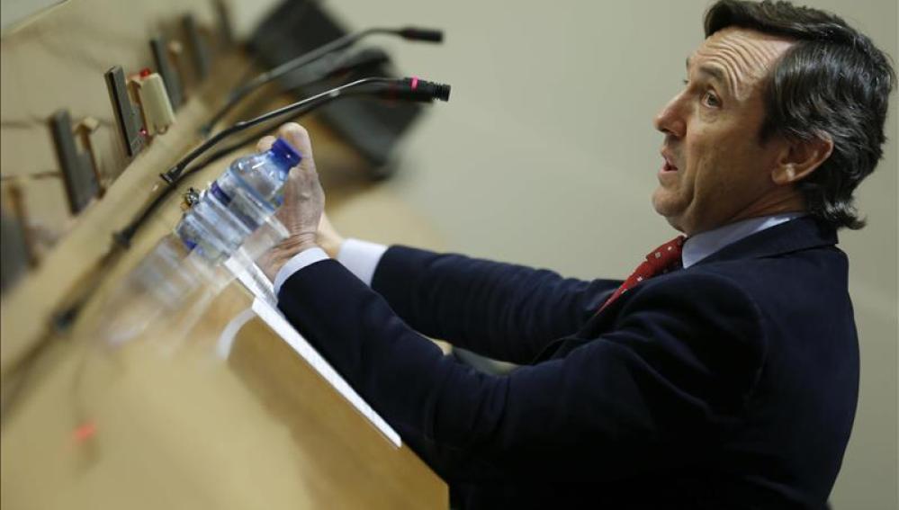 El portavoz titular Rafael Hernando (PP)