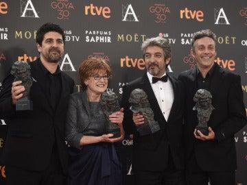 El equipo de 'Truman' en los Goya 2016