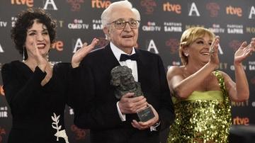 Mariano Ozores con su Goya de Honor
