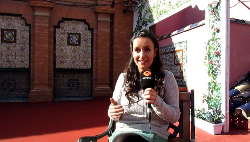 """Eloína Marcos: """"Elena llega como un torbellino de pasiones"""""""