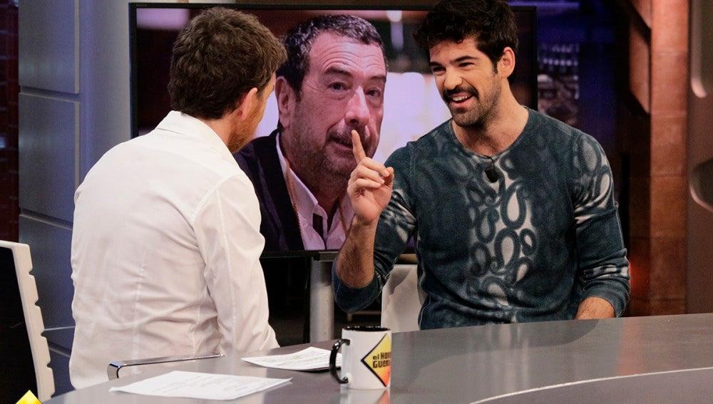 Miguel Ángel Muñoz en 'El Hormiguero 3.0'