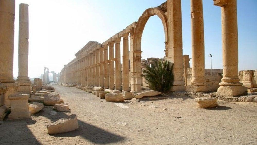 Antigua Ciudad de Palmira, Siria