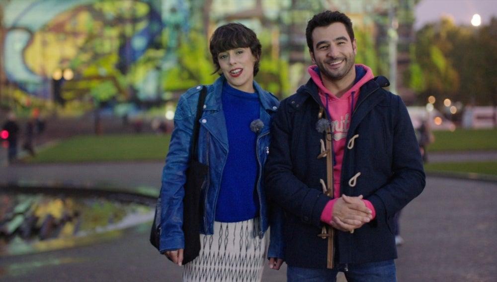 Carol y Alex frente al Dom