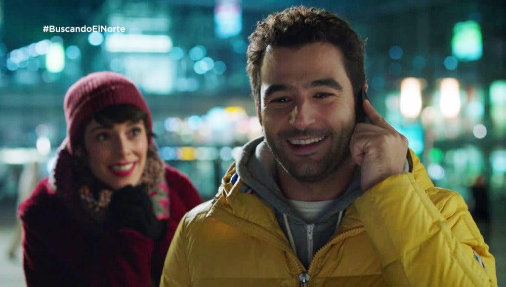 Alex y Carol pierden su mochila nada más llegar a Berlín