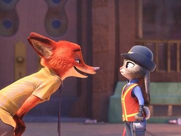 El zorro Nick y la conejo Judy